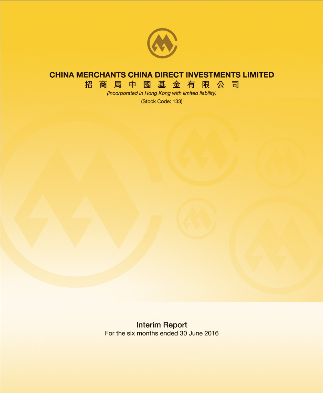 China Merchants China Direct Investments Limited
