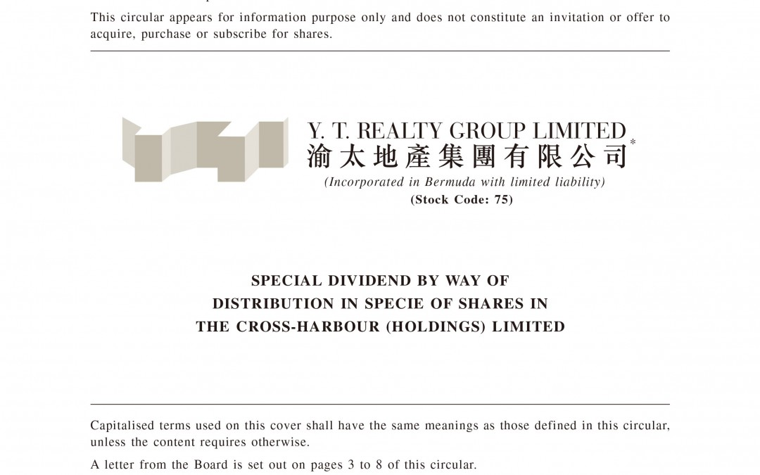Y. T. Realty Group Limited