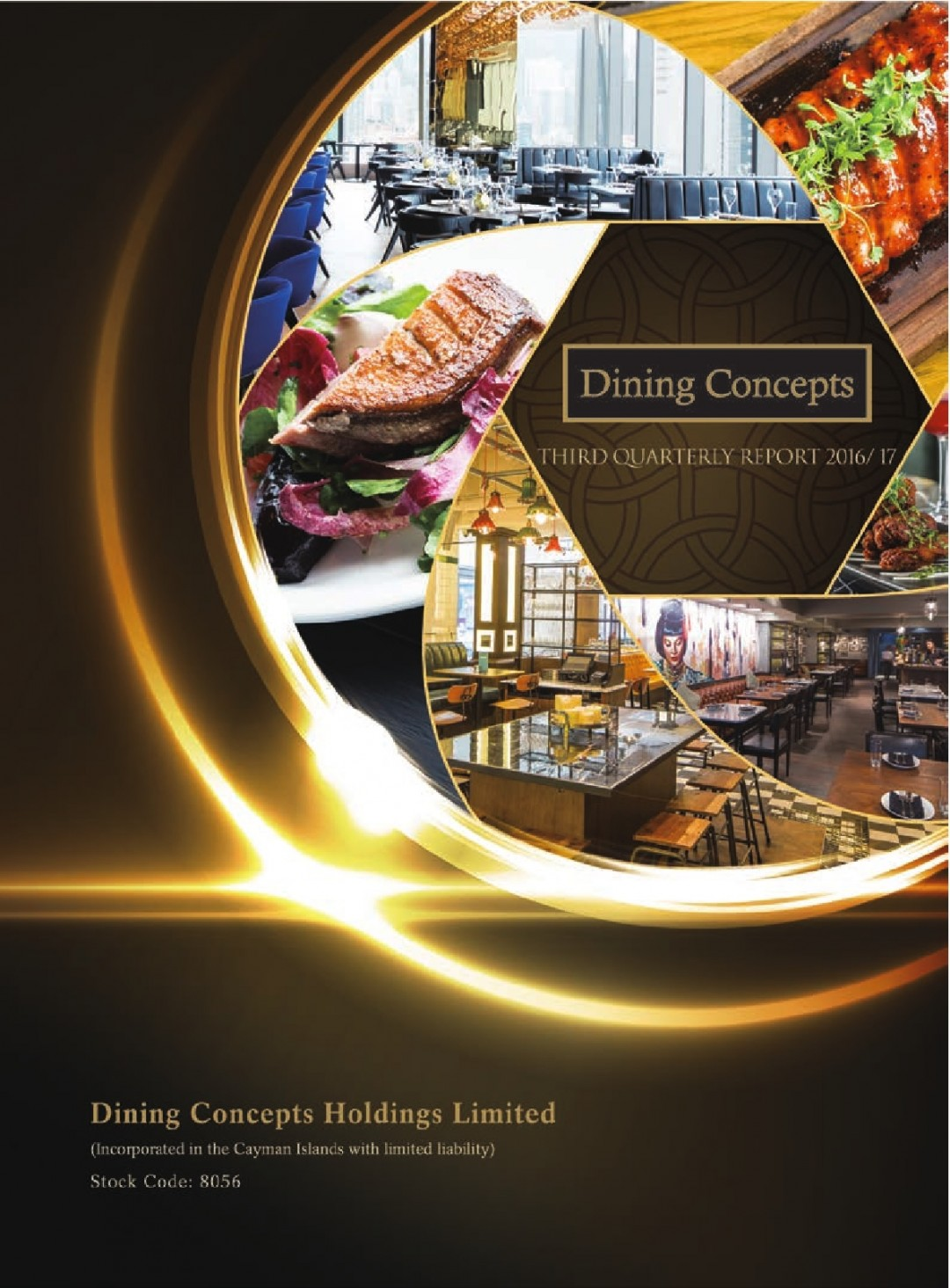 Dining Concepts Holdings Limited – Third Quarterly Report 2016 & 17