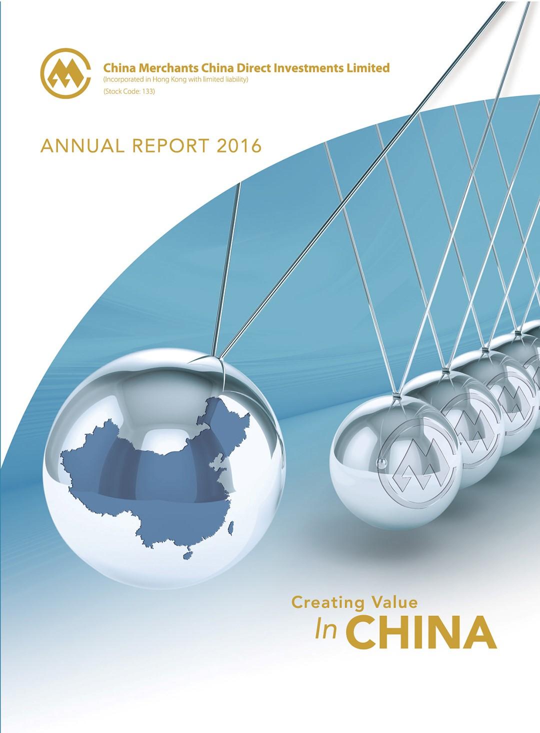 China Merchants China Direct Investments Limited