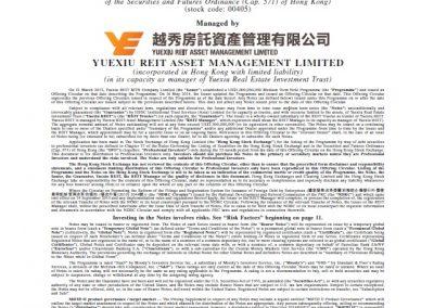 Yuexiu Reit MTN Company Limited