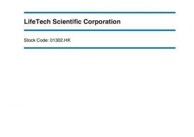 LifeTech Scientific Corporation