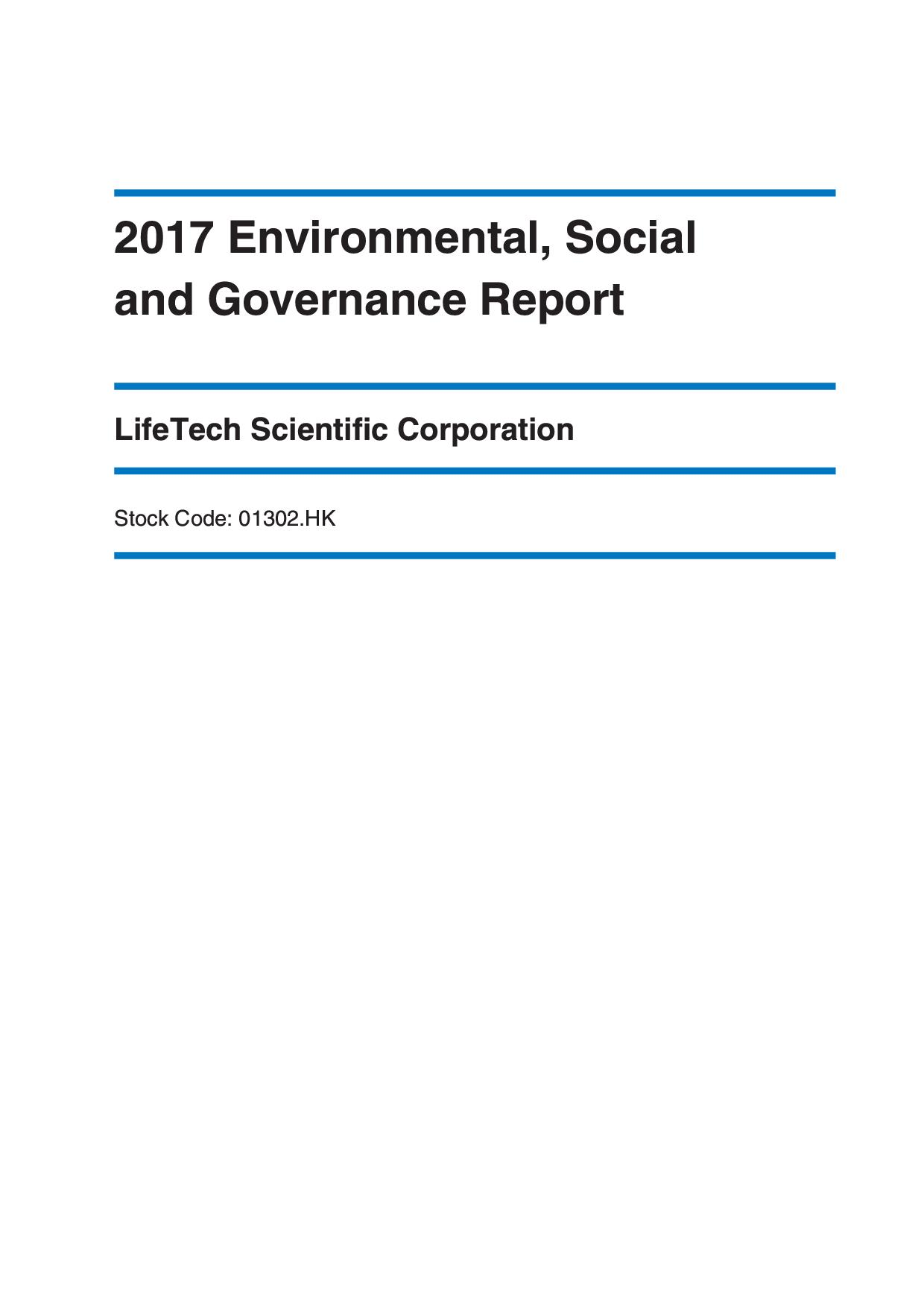 LifeTech Scientific Corporation