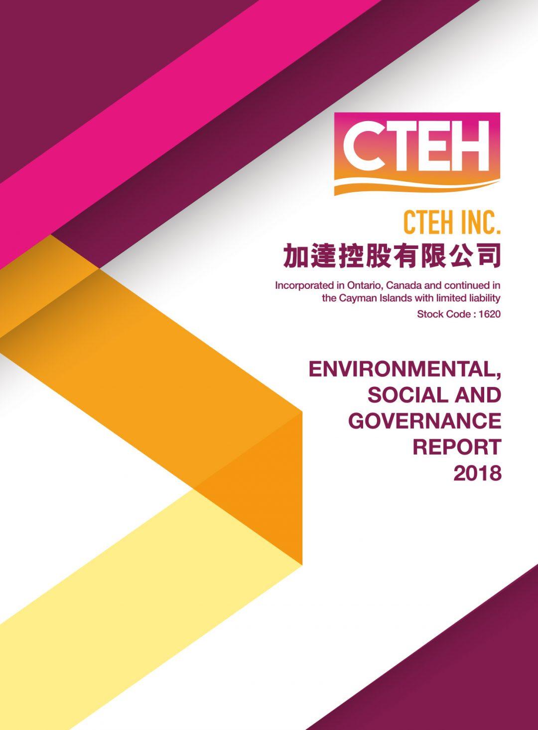 CTEH INC. ESG