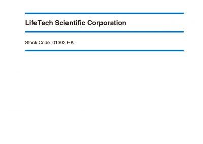 LifeTech Scientific Corporation ESG