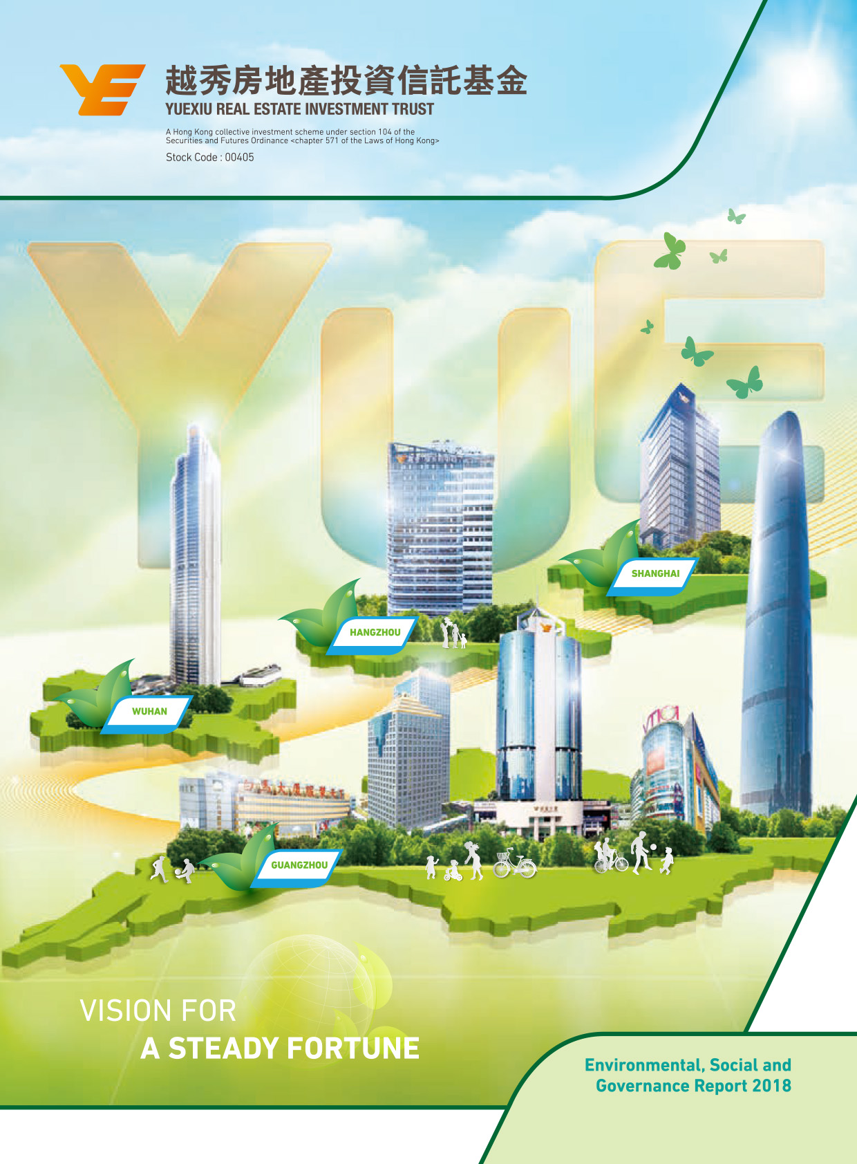 YUEXIU REAL ESTATE INVESTMENT TRUST ESG