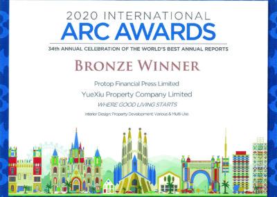 Yuexiu Property Company Limited 2020 Bronze Award Various & Multi-Use