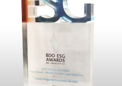 YUEXIU PROPERTY COMPANY LIMITED – BDO ESG AWARDS 2021