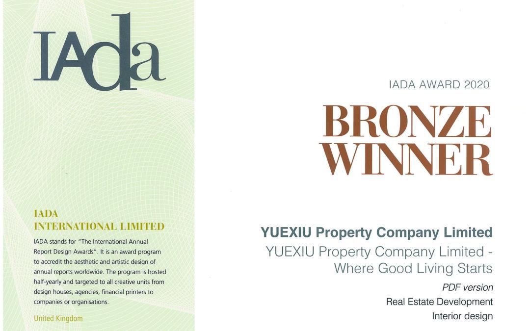 YUEXIU PROPERTY COMPANY LIMITED – IADA AWARD 2020 BRONZE WINNER