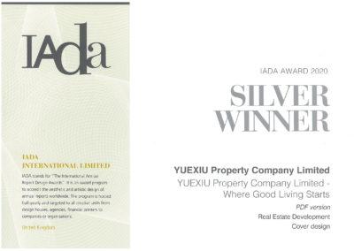 YUEXIU PROPERTY COMPANY LIMITED – IADA AWARD 2020 SILVER WINNER